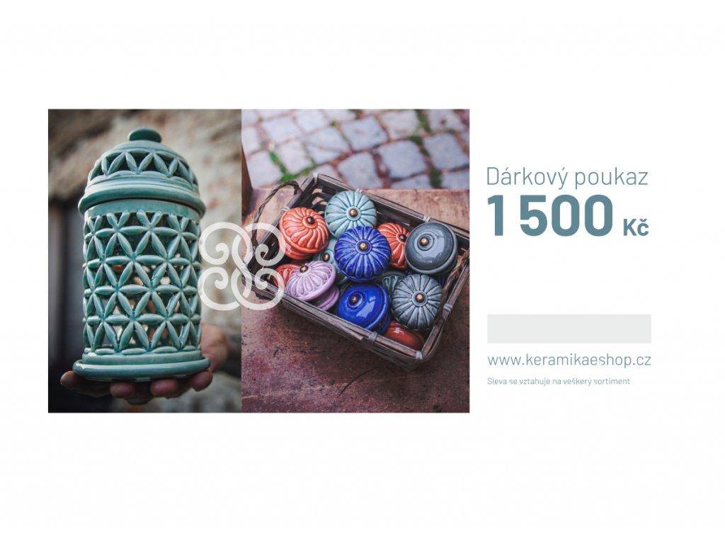 Voucher v hodnotě 1500 Kč