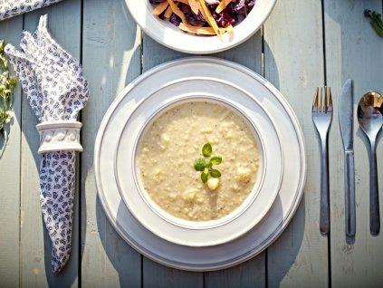 talíř polívka