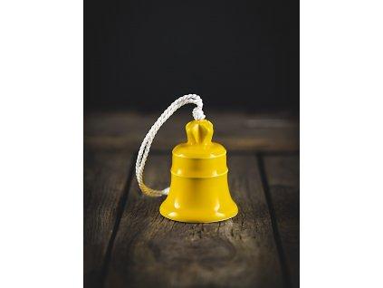 zvonek žlutý