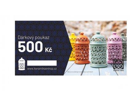 Voucher v hodnotě 500 Kč