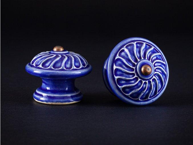 uchytky velke vzor 1 modř