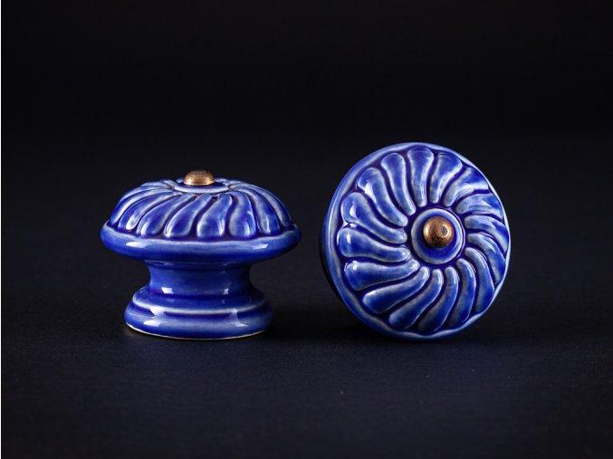 uchytky velke vzor 2 modr