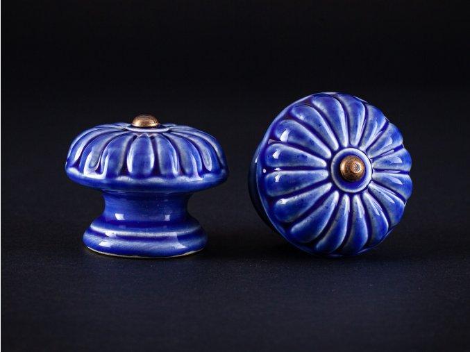 uchytky velke vzor 5 modr