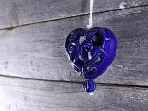 srdce kobalt