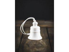 zvonek bílý