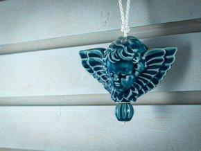 anděl modrý 1
