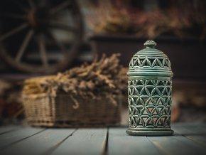 aromalampa květ života oliva