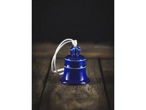 zvonek modř