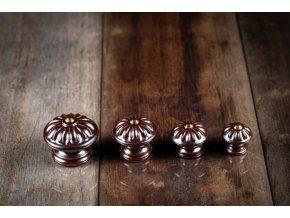 porcelán knopky 40
