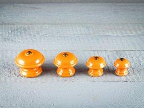 oranžové knopky