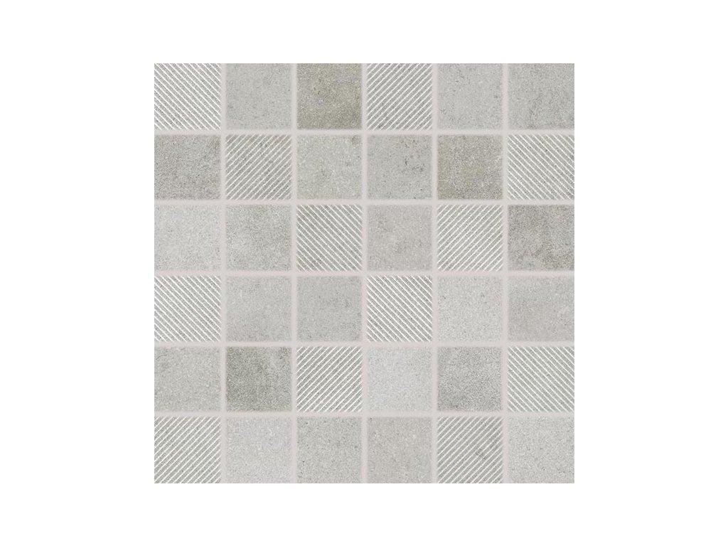 Form mozaika šedá DDR05696
