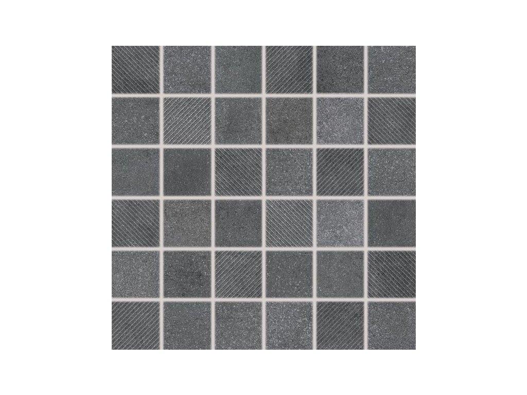 Form mozaika tmavě šedá DDR05697
