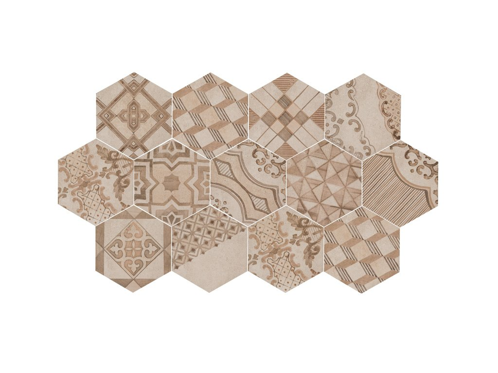Clays Hexagon MM7Y earth sand shell