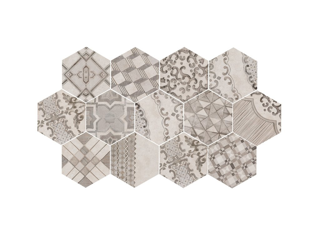 Clays Hexagon MM7Z cotton lava