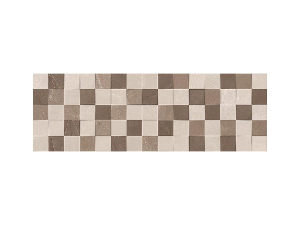 Elegant Mosaic 3D Crema 20x60 obklad obkladačka