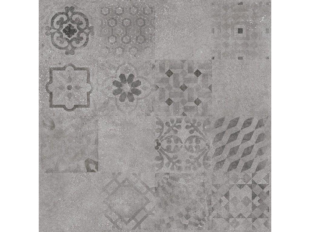Rako Solid dlažba dlaždička dlaždice slinutá dekor dekorativní patchwork DAK63796
