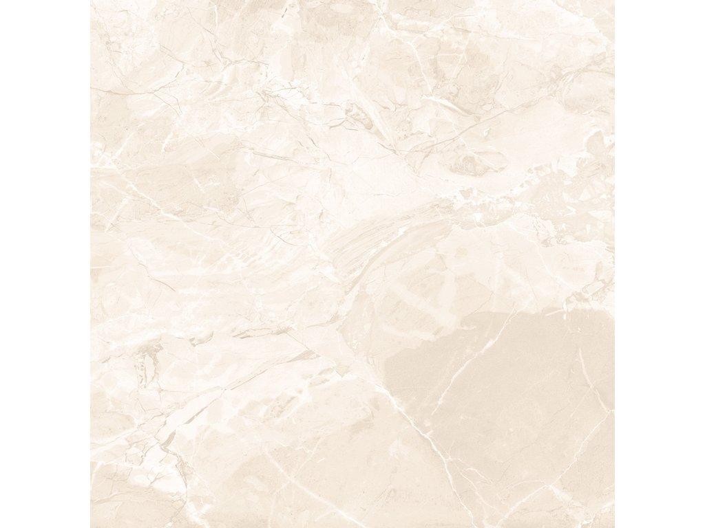 Earthstone Beige, dlažba, béžová, lesklá, 60,8x60,8