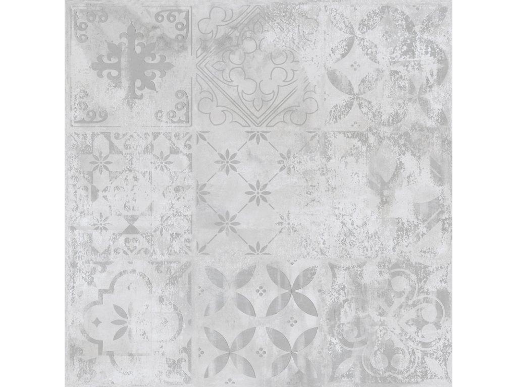 Dlažba Subway Print patchwork decor beton