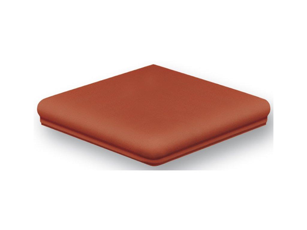 Keraplatte Terra 215/9331 patrician red  schodovka roh