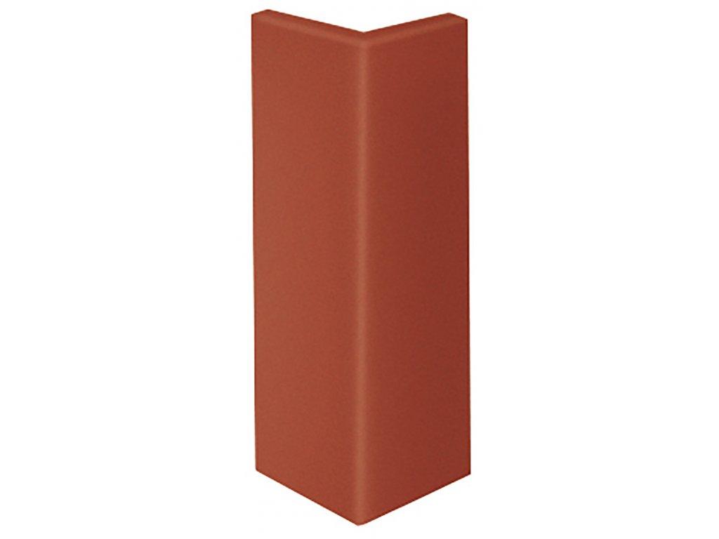 Keraplatte Terra 215/9000 patrician red schodová lišta roh