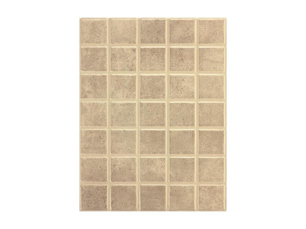 Rako Patina obklad imitace mozaiky šedo béžový WARKB232