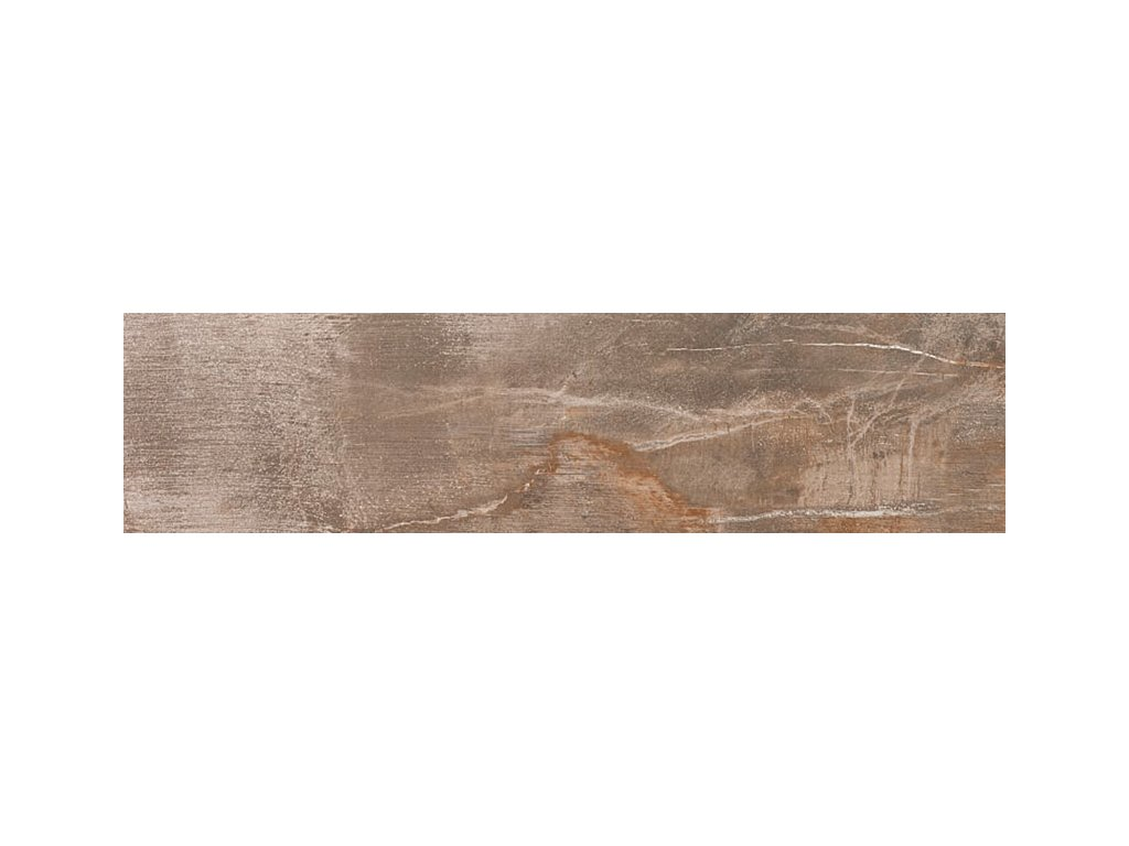 FOSSIL dlažba brown 20x80