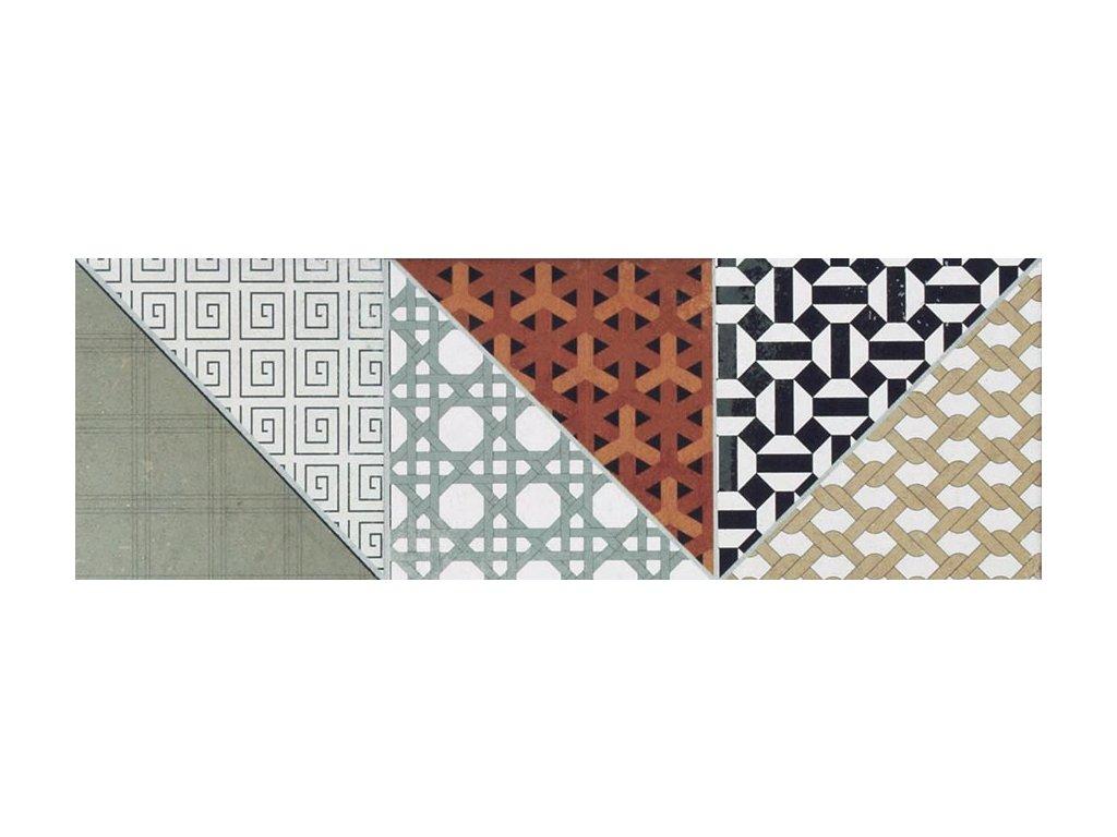 Rako Deco dlažba patchwork DDPP2659