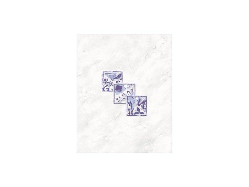 Rako Lucie dekor šedý lesklý WITGX110