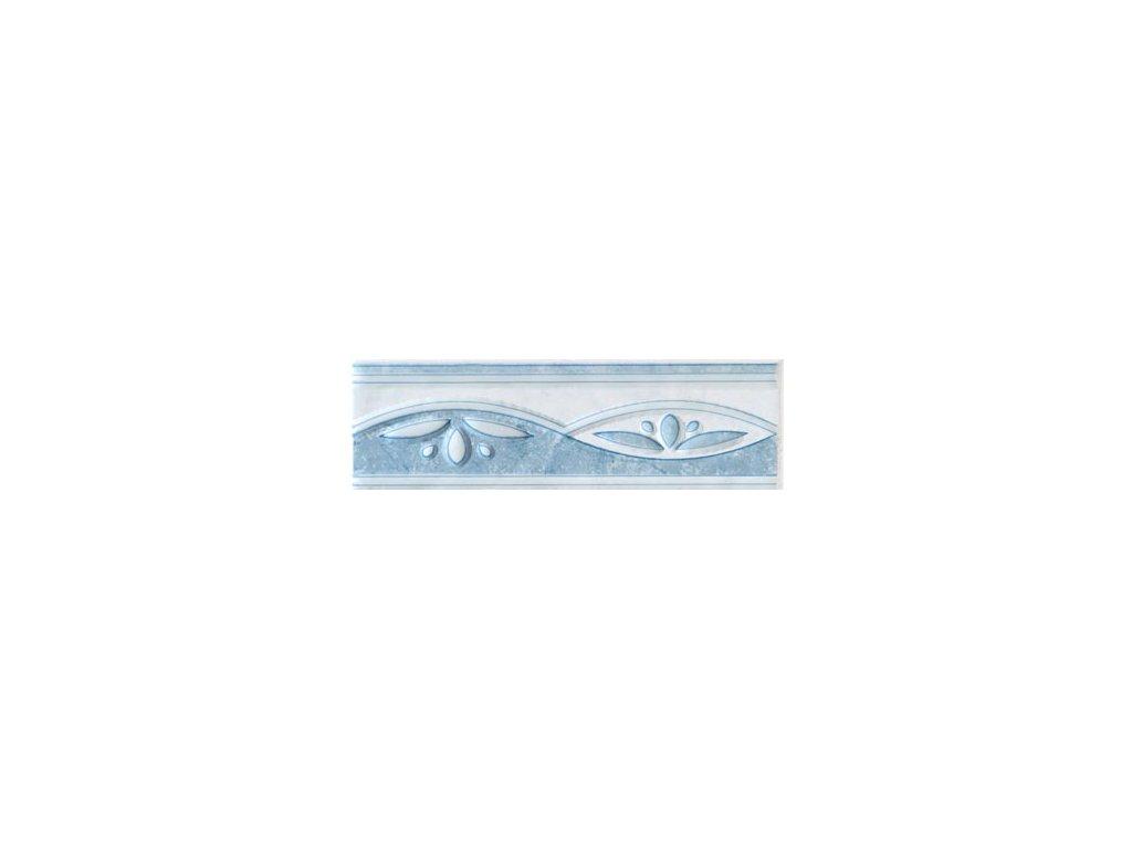 Neo Rako listela modrá lesklá WLAED016