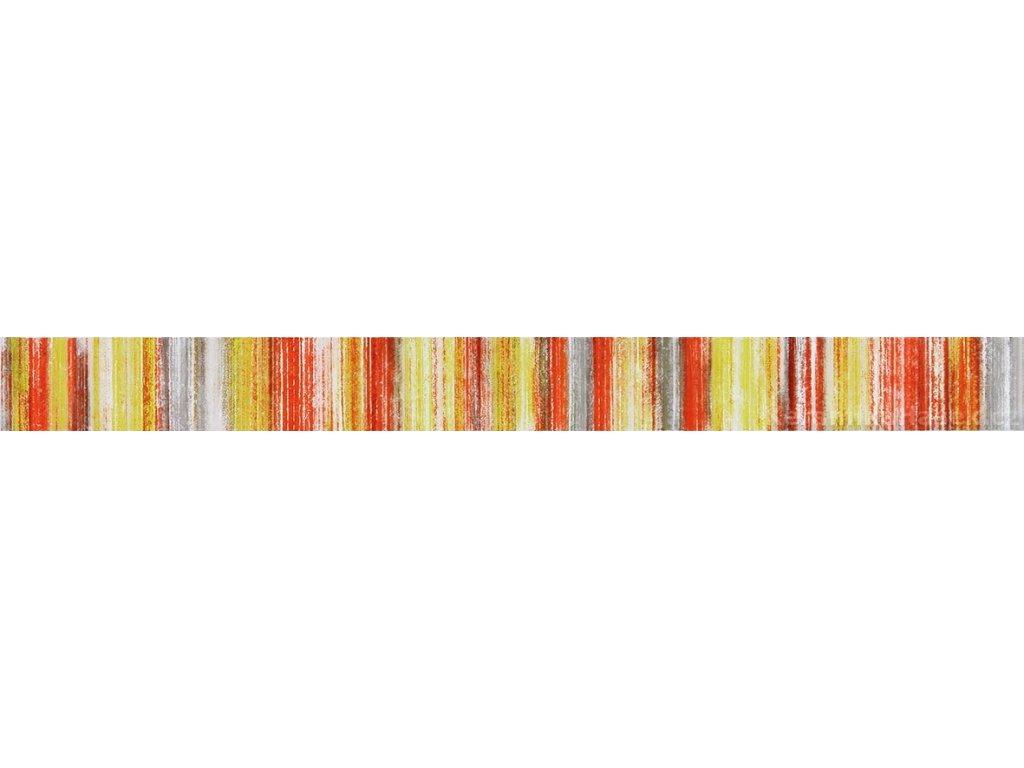 Air WLASZ003, listela, červenozelená, lesklá, 60 x 5,5 x 1 cm