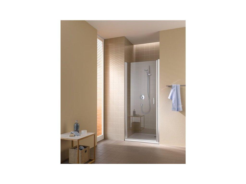 jednokřídlé kyvné dveře