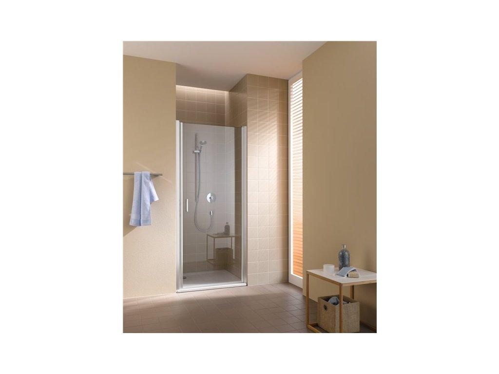 jednokřídlé kyvné dveře PRAVÉ