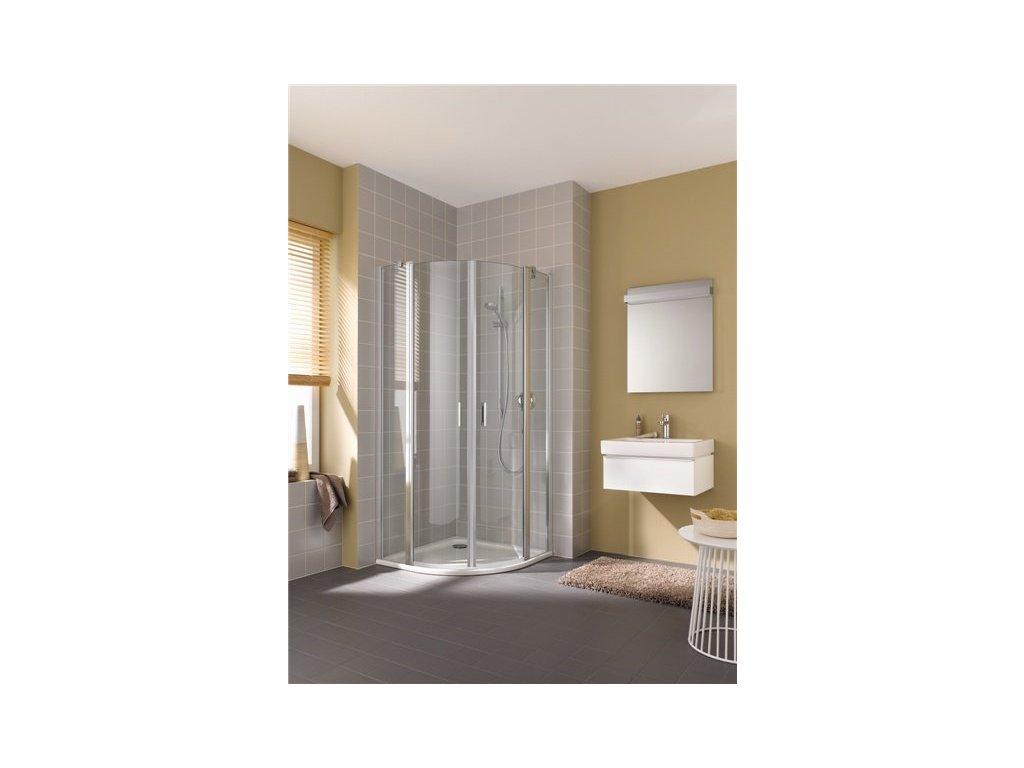 Čtvrtktuhový sprchový kout Cada XS