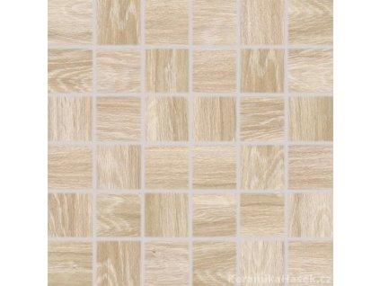 Faro DDM06716 mozaika imitace dřeva béžová