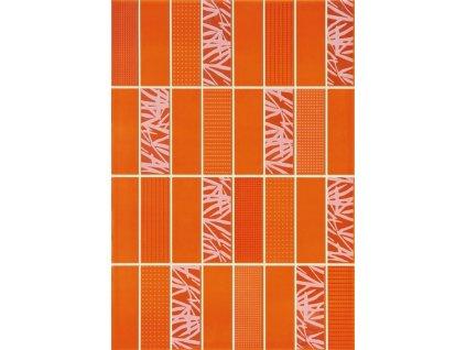 Arco pomarancz dekor oranžový