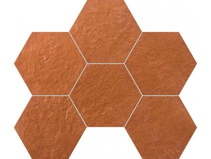 Crude Hexagonová mozaika