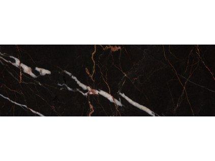 LUXOR Black obklad obkladačka v imitaci mramoru černá