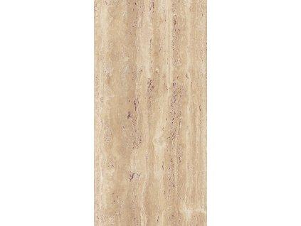 Tahiti Wall Dark, obklad, hnědobéžový, lesklý, 25 x 50 cm