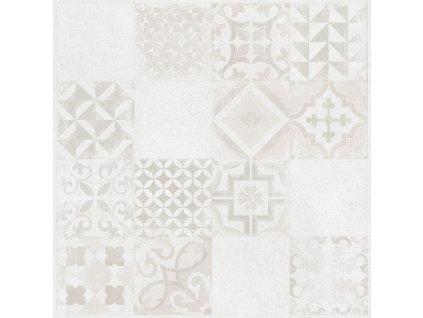 Rako Solid dlažba dlaždička dlaždice slinutá dekor dekorativní patchwork DAK63795