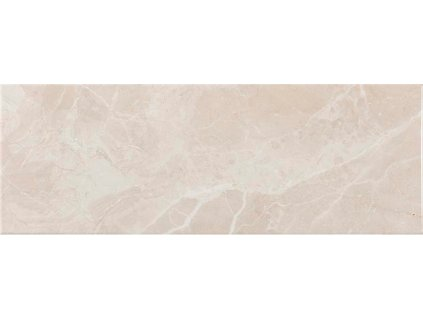 Lesklý obklad v imitaci mramoru ARIANA Beige 25 x 70 cm