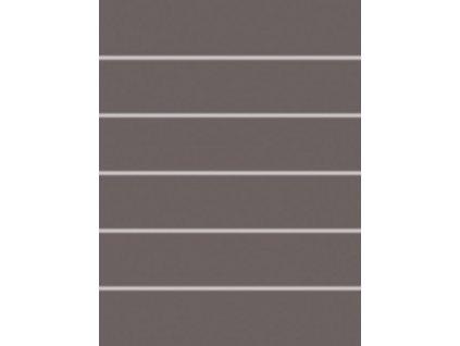 Concept Rako dekor tmavě šedý WIFKB111