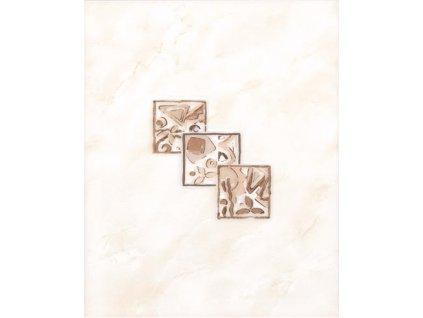 Rako Lucie dekor béžový lesklý WITGX113