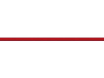 listela sklo červená 50