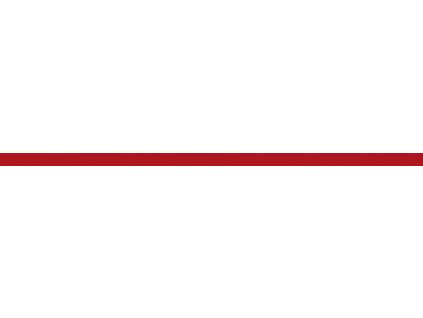 vyr 5916listela sklo cervena 50