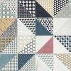 Rako Deco dlažba patchwork DAK63659 a