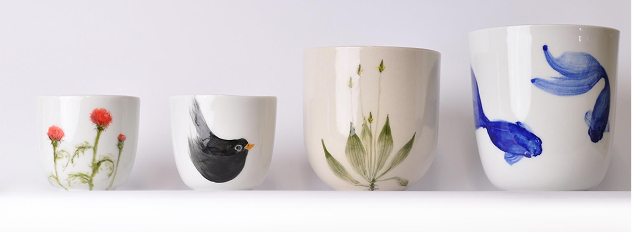 Malovany porcelan