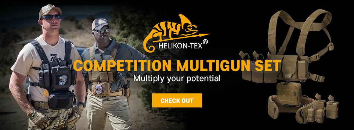Hrudní nosič HELIKON Competition Multi Gun Rig
