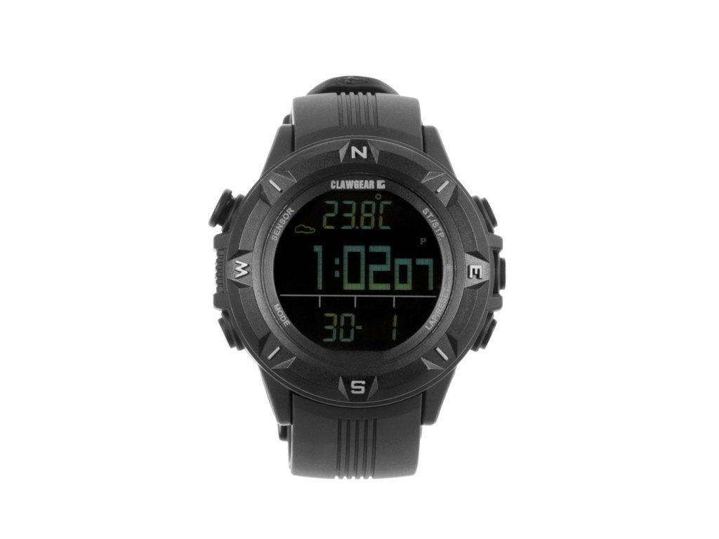 Multifunkční hodinky CLAWGEAR Mission Sensor II - All Black - KERBEROS  TACTICAL aa99ba8b8d