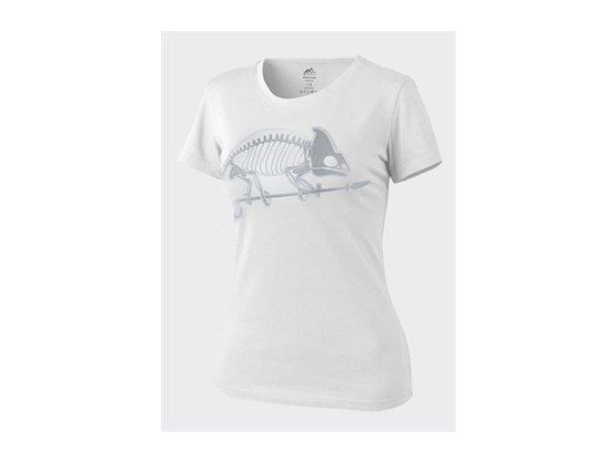 Dámské triko HELIKON Women's Skeleton T-Shirt - White