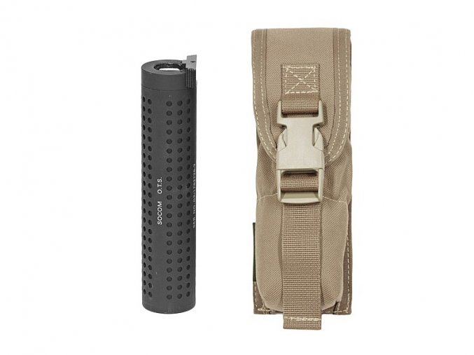 MOLLE pouzdro WARRIOR ASSAULT SYSTEMS Large Torch Suppressor Pouch - Coyote Tan